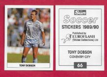 Coventry City Tony Dobson 66